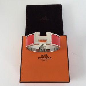 Hermès Wide Clic Clac H Bracelet
